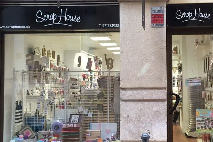 tienda de scrap de Reus Scraphouse Reus