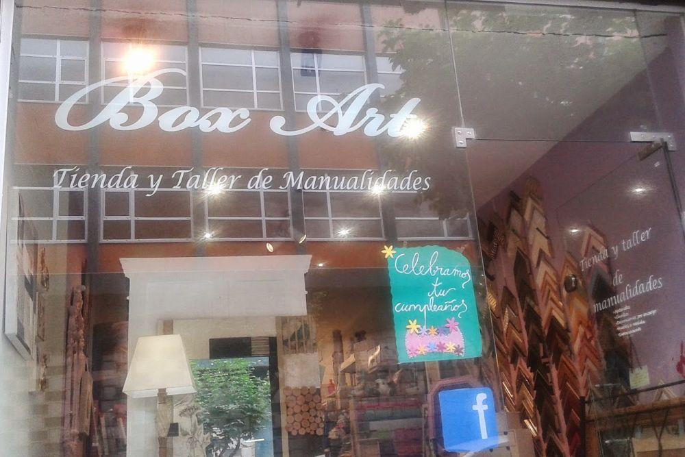 tienda de scrap de Bilbao BOX ART