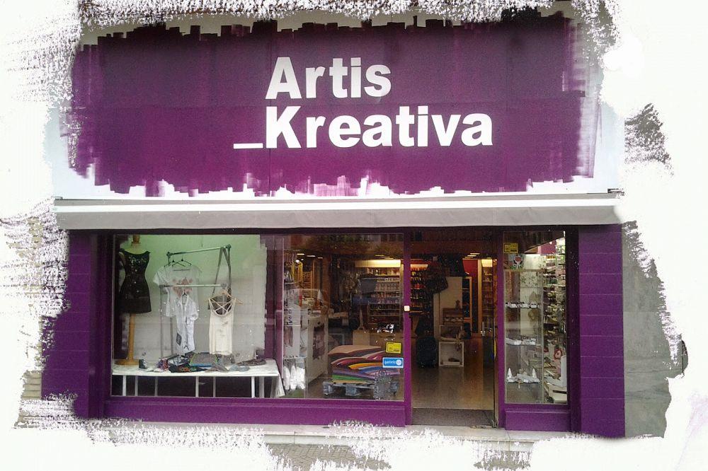 tienda de scrap de Vitoria Artis Kreativa