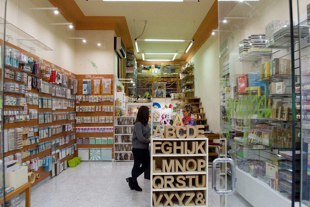 tienda de scrap de Barcelona Grap Pa