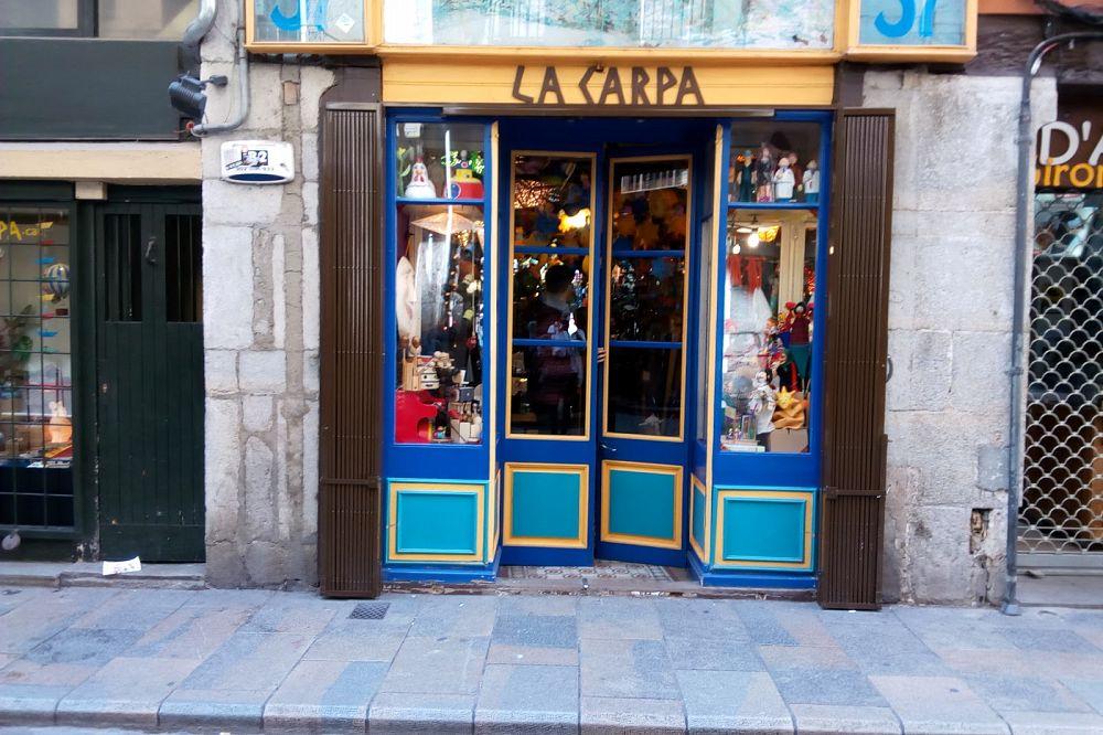 tienda de scrap de Girona La Carpa