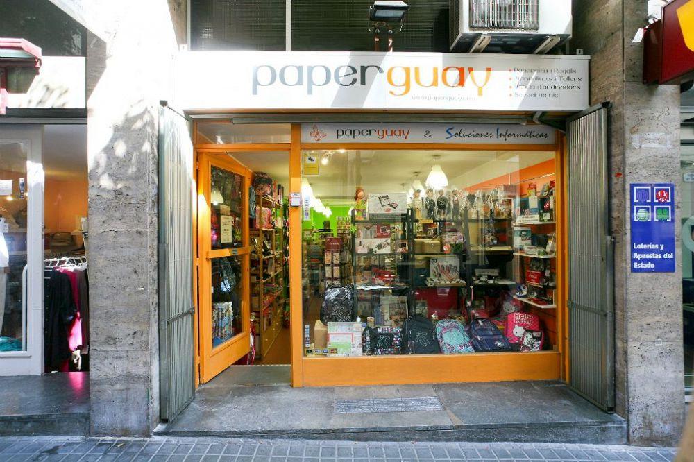 tienda de scrap de Barcelona Paperguay