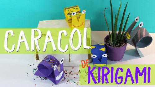 ¡Caracoles de papel! Kirigami Fácil