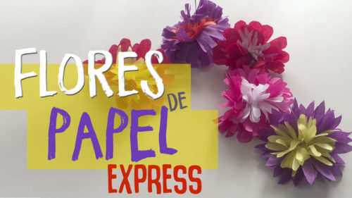 ¿Cómo hacer Flores de papel de seda?