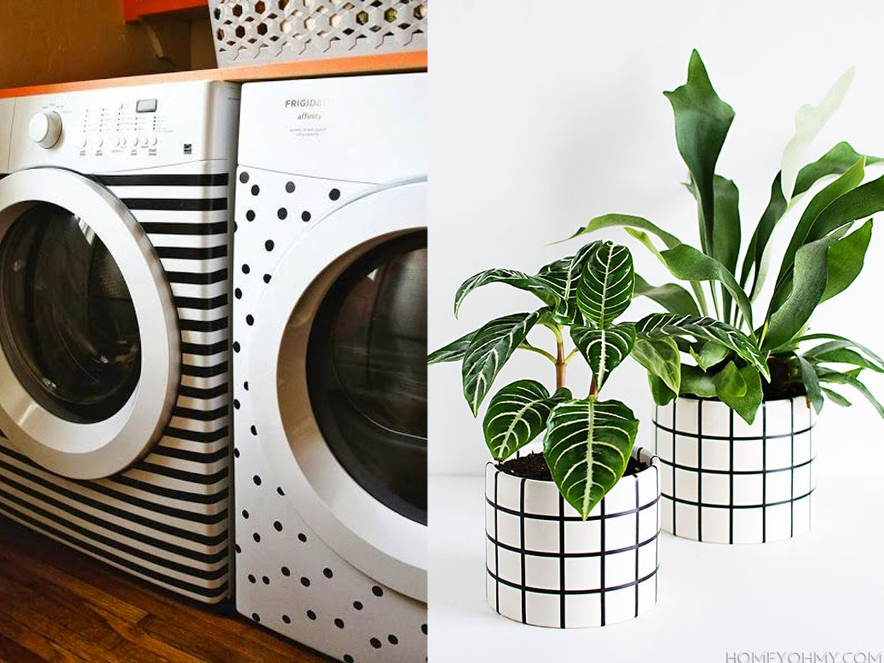 ideas washi tape de decoración