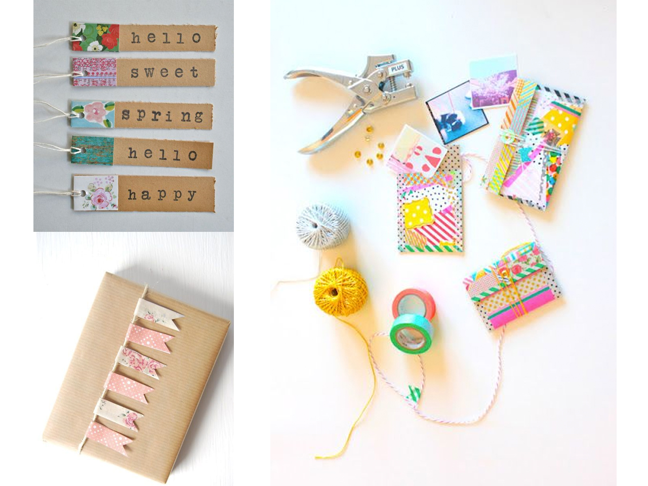 ideas washi tape regalos