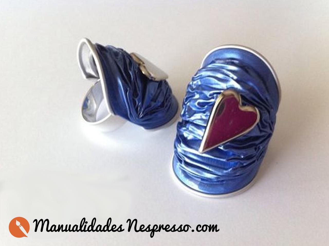 anillos con capsulas nespresso faciles