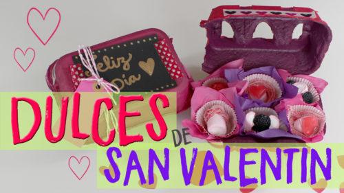 ¡¡Dulces de San Valentín Fáciles!!