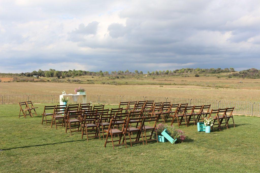paisajes de bodas diy