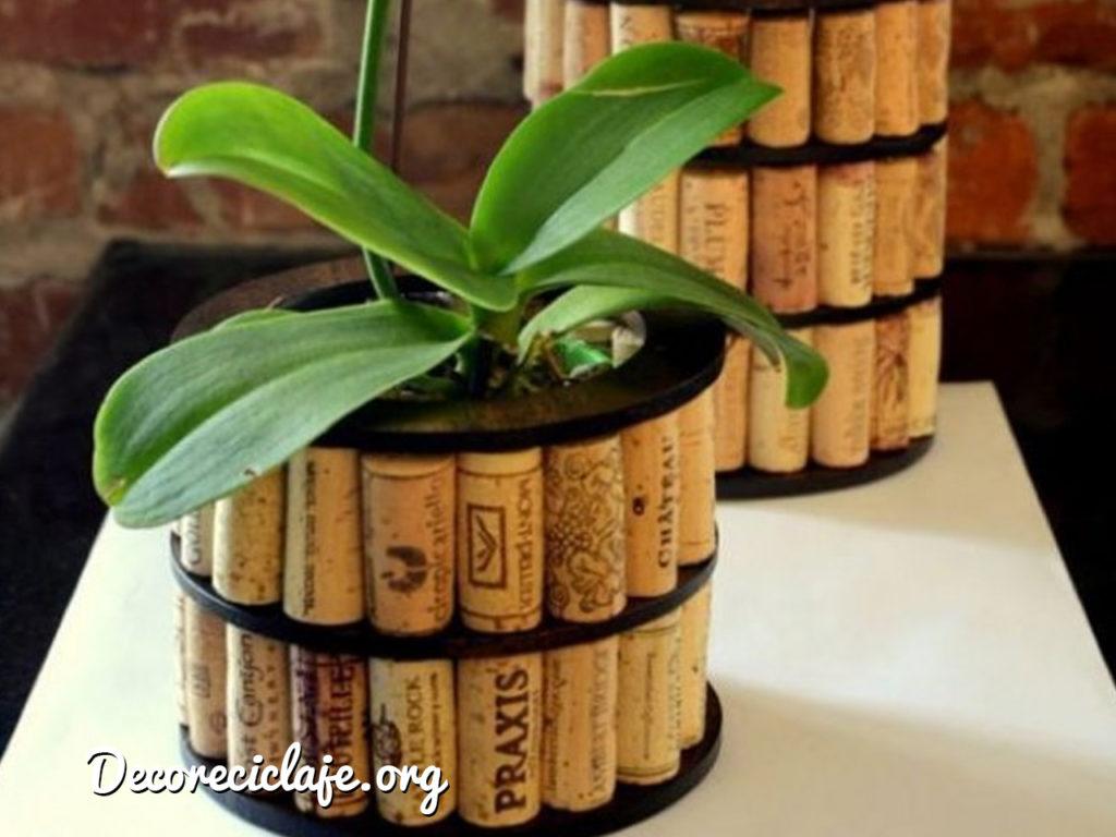elementos de decoracion de reciclaje