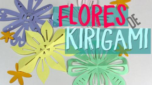 kirigami de flores
