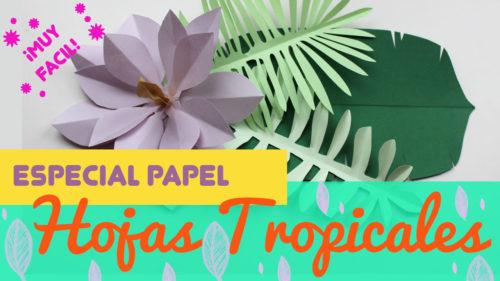 Cómo hacer hojas de papel