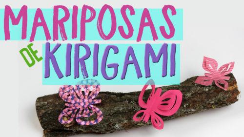 ¿Cómo hacer Mariposas de Kirigami?
