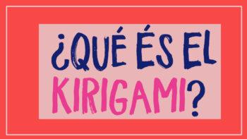 que es el kirigami