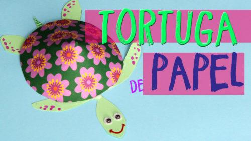 ¿Cómo hacer una tortuga de papel?