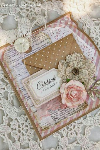 album scrap con solapas