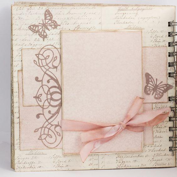album scrapbooking de sobres