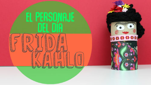 ¿Cómo hacer una Muñeca de Frida Kahlo con Tubos de Cartón?