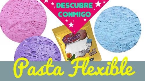 ¿Qué es la pasta flexible funny gummy?