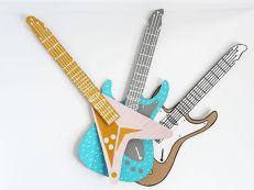 manualidades de Guitarras de Cartón
