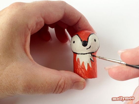 mollymoo.ie - Wine Cork Crafts: Pocket Pals #2