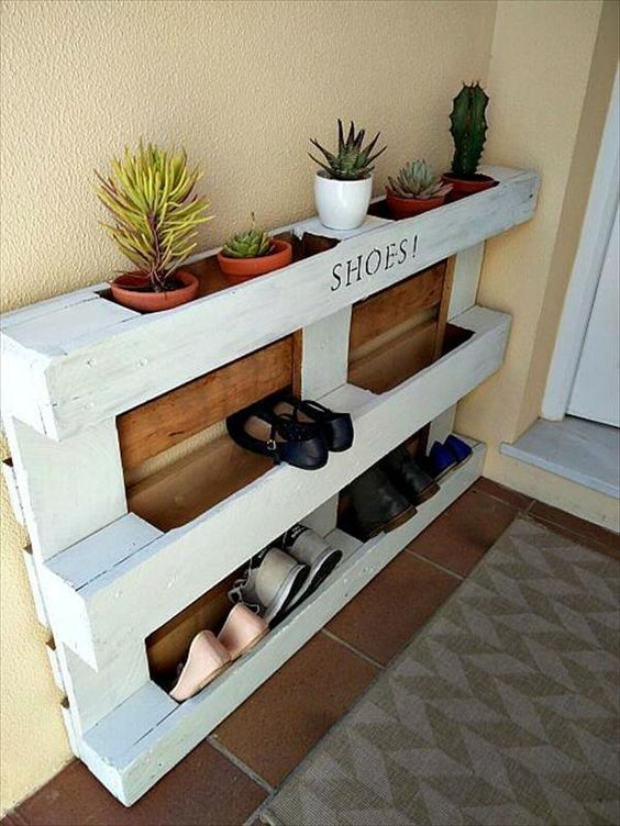 decoracion muebles reciclados con pallets