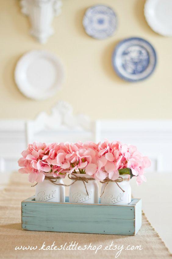 Día de la madre jardinera rústica caja con 3 por KatesLittleShop: