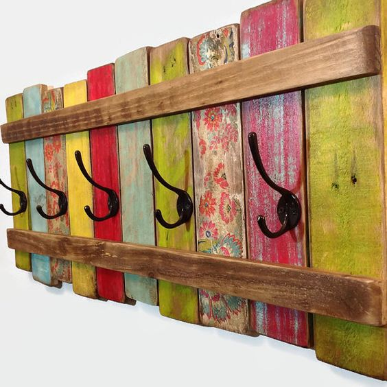 decoración de madera reciclada con pallets