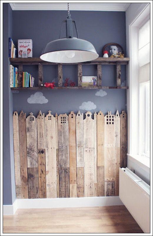 ▷ ✅46 ideas de decoración en madera reciclada 【TOP 2018】 - Uma ...
