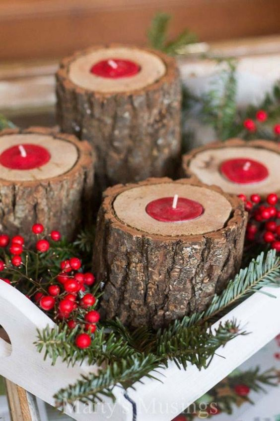 decoracion de reciclaje navideña