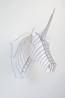 manualidades con unicornios de carton para vender