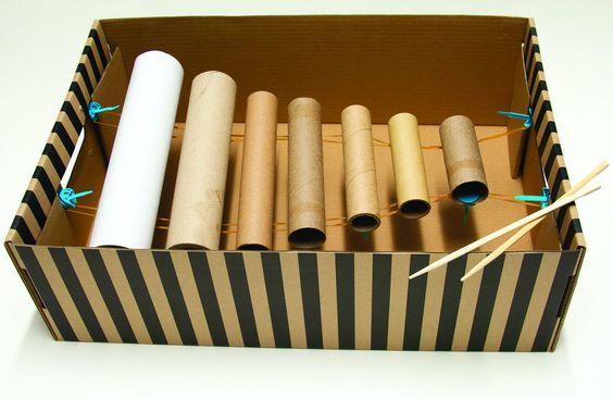 ¿Cómo hacer instrumentos musicales caseros para niños?