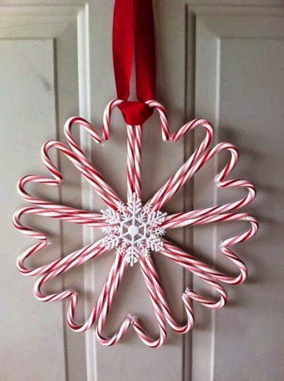 decoraciones recicladas de caramelos