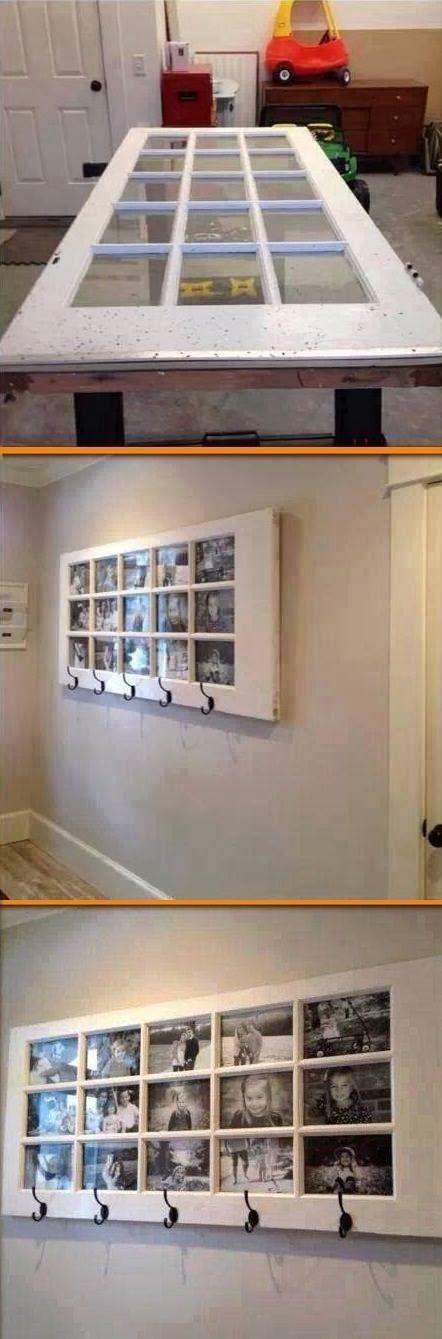 decoracion reciclada para habitaciones con puertas