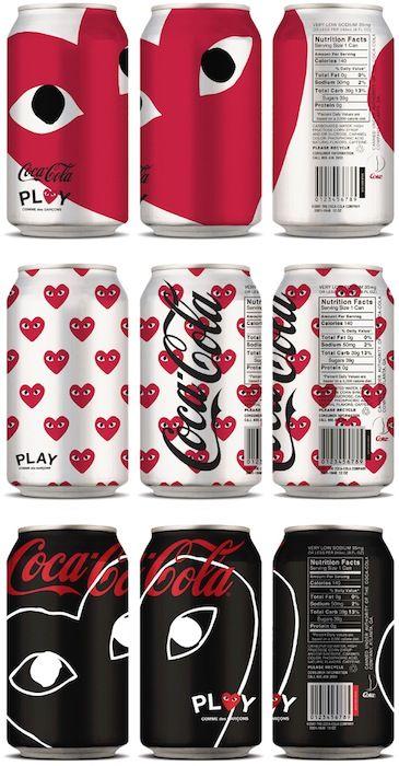 Coca-Cola con diseño de Comme des Garçons: