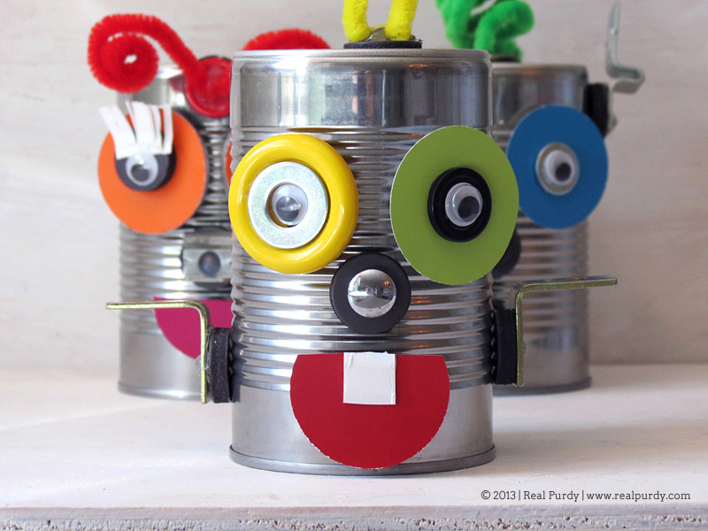 Magnetic alien robots