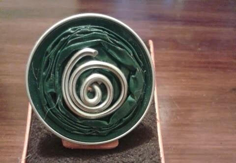anillos con capsulas de cafe