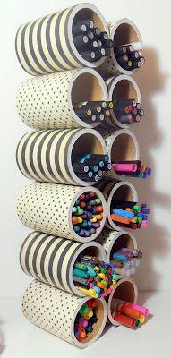 Organizador para guardar rollos de papel Más: