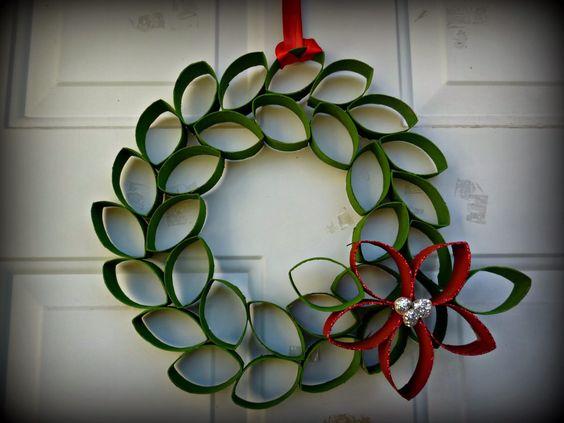 decoraciones navideñas con carton