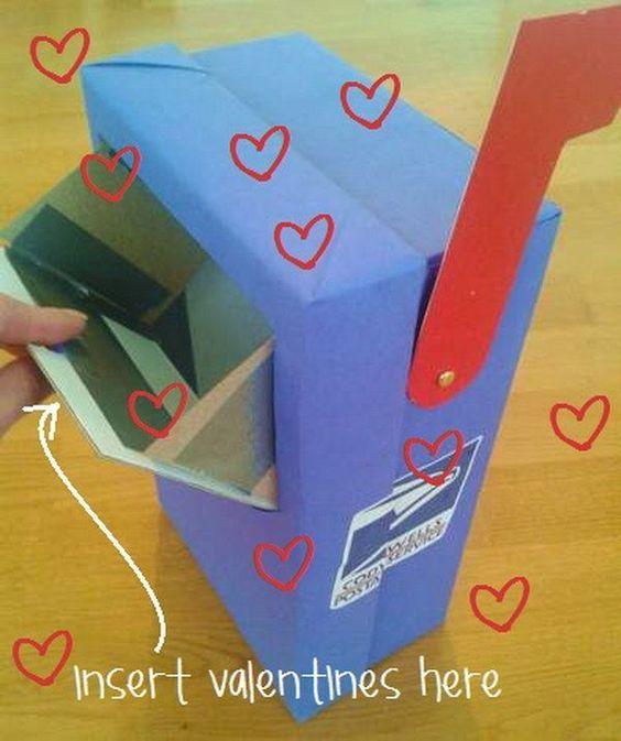 regalo de san valentin reciclado con carton de zapatos