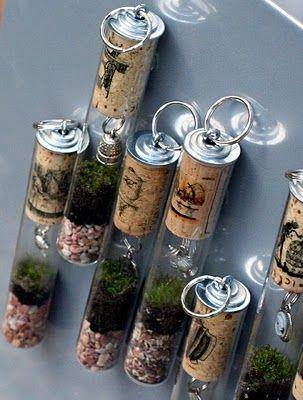 Buenas ideas con tapones de corcho. #vino