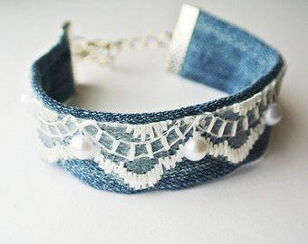pulseras de decoracion reciclada vintage