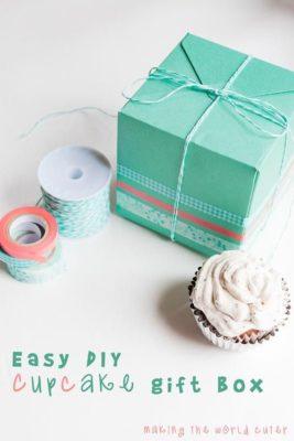 14 ideas para decorar cajas con washi tape