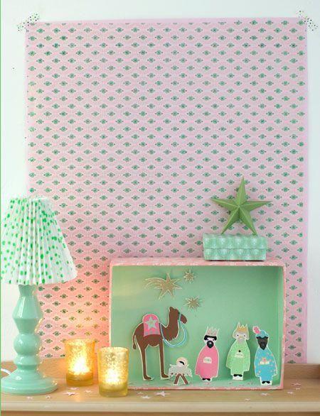 manualidades con carton navidad