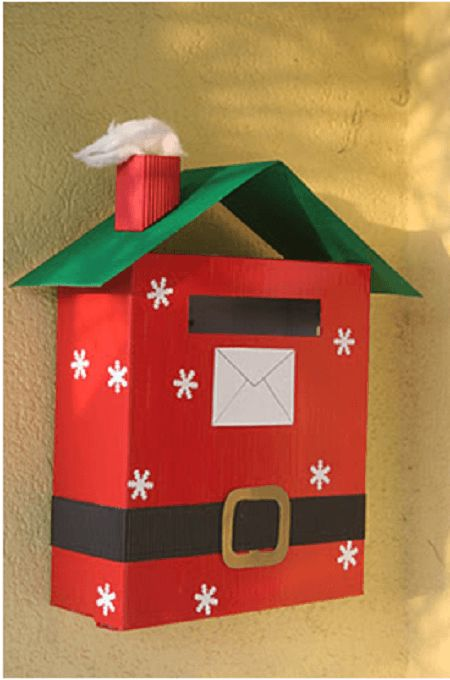 manualidades de cartón para navidad fáciles
