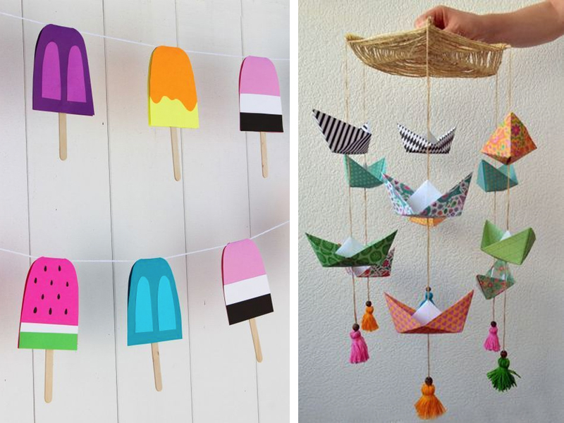 15 ideas de manualidades de verano f ciles top 2018 for Manualidades faciles decoracion