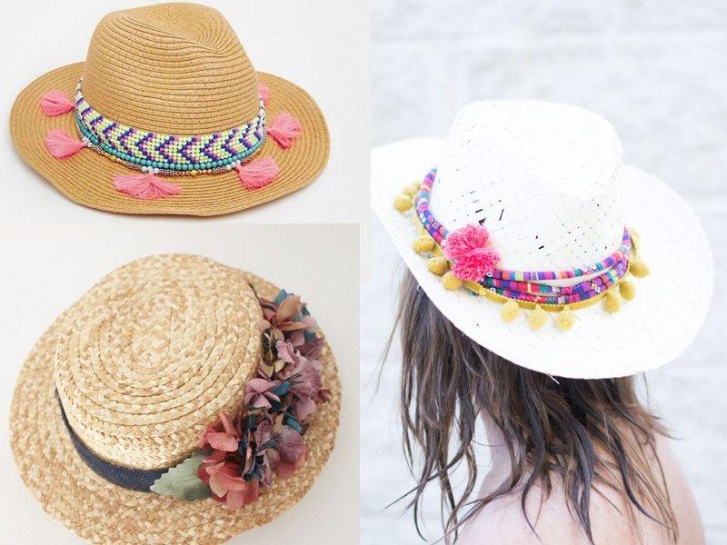 manualidades de verano para adultos sombreros