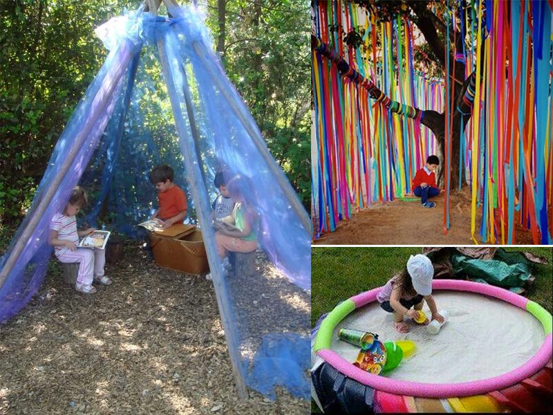 manualidades de verano para niños de 2 a 3 años al exterior