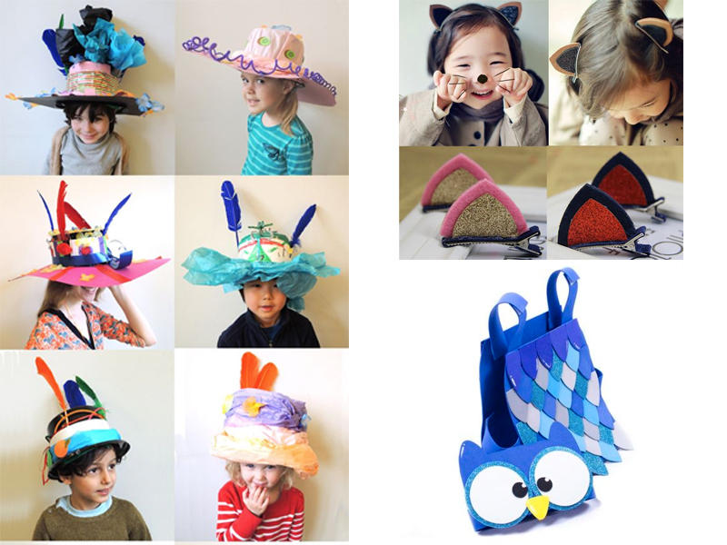 manualidades de verano para niños de 2 a 3 años disfraces