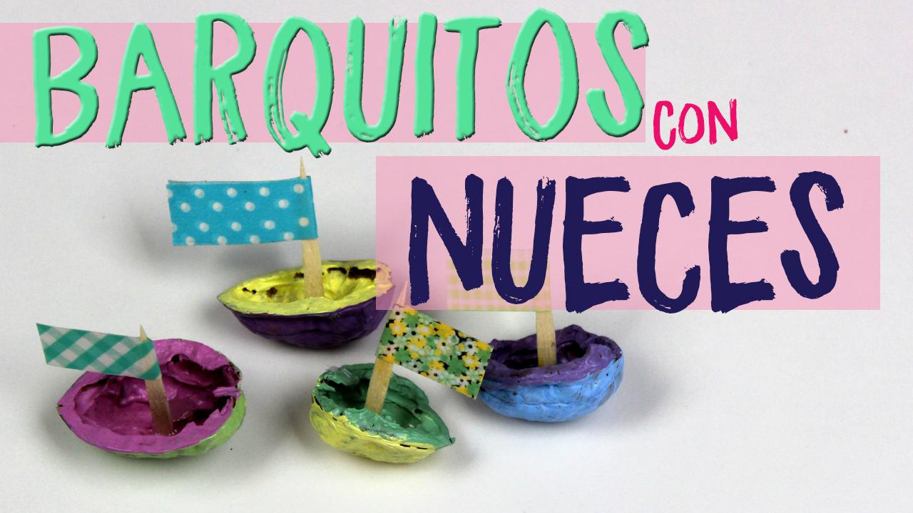 Manualidades faciles para decorar barquitos nuez top 2018 uma manualidades - Manualidades de decoracion faciles ...